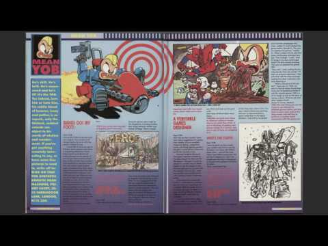 mean machines sega issue 1 ( that what is says on the disc)