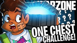 THE ONE CHEST ONLY CHALLENGE - Call of Duty Warzone!