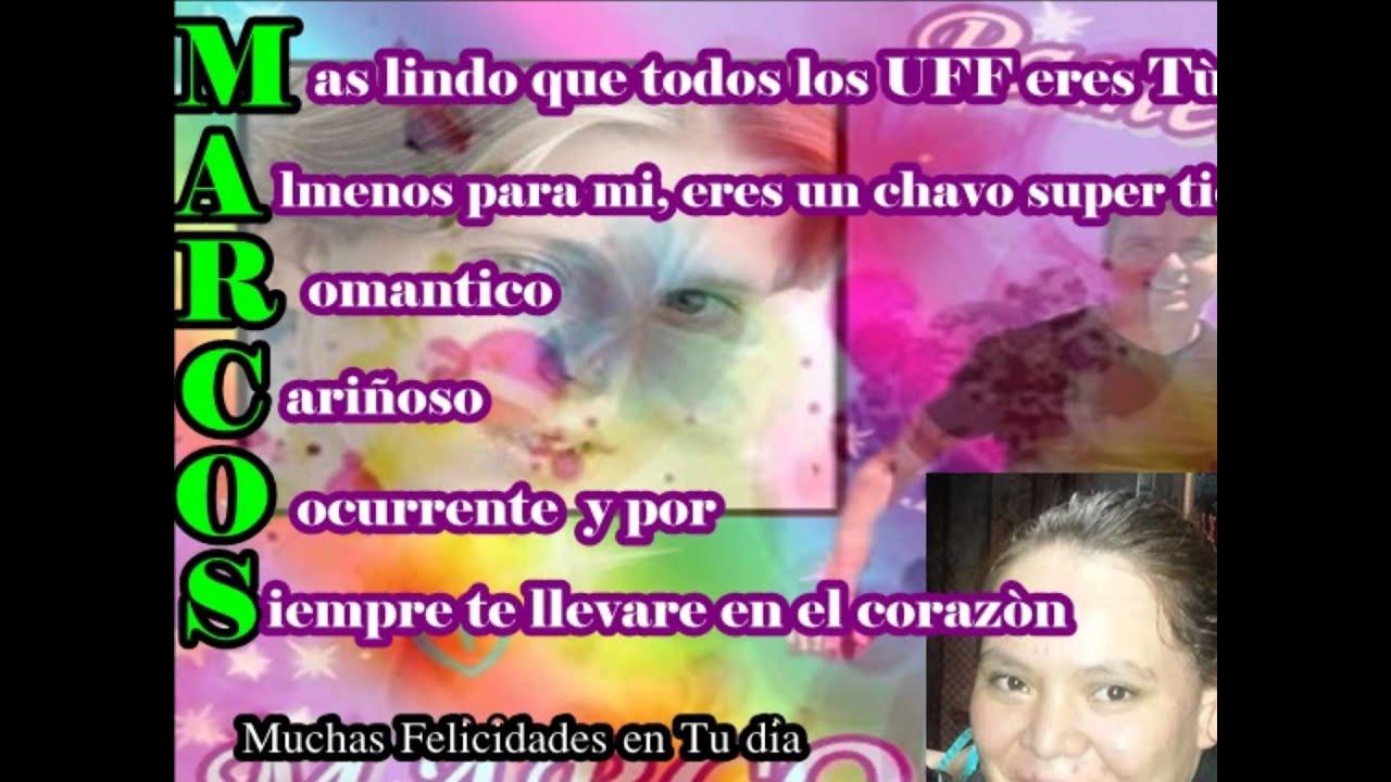 Feliz Cumpleaños Marcos Causa 2013 - YouTube