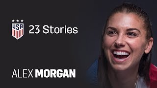 ONE NATION. ONE TEAM. 23 Stories: Alex Morgan