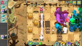 HARDEST BOSS?? - Epic Quest: Wild West Wipeout - Day 35  - Plants vs. Zombies 2