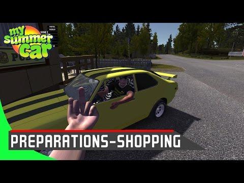 PREPARATIONS! My summer car – Shopping trip – Ep.2
