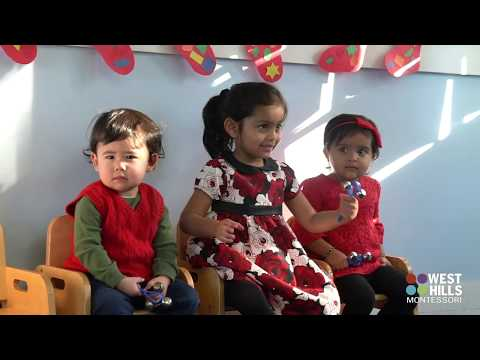 West Hills Montessori Toddler Holiday Show