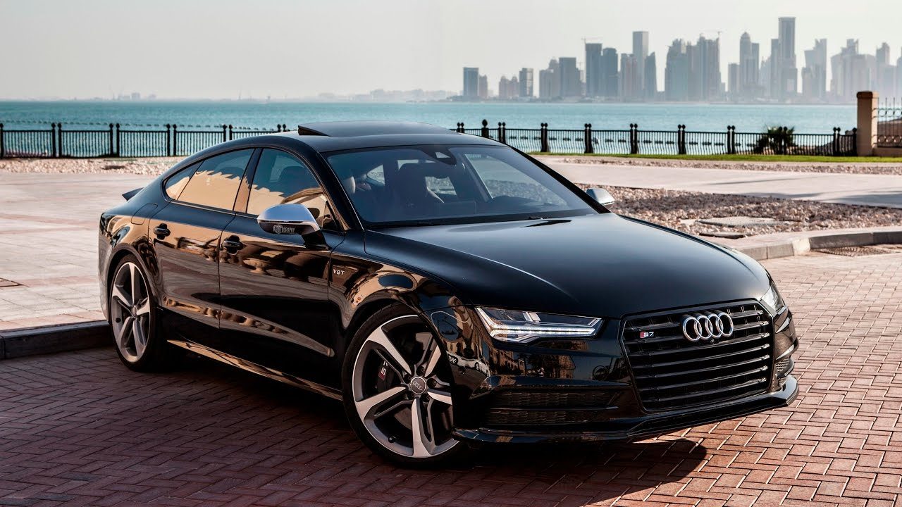2017 audi s7 450hp v8 4 0tt black on black launch. Black Bedroom Furniture Sets. Home Design Ideas