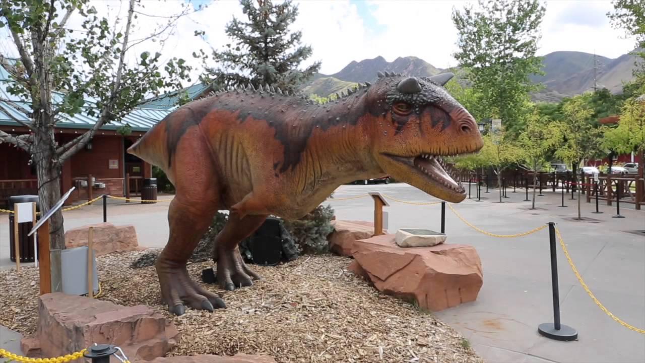 Fun things to do in Utah with Kids: Hogle Zoo - Animatronic Dinosaurs T-Rex - Field Trip - YouTube