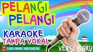 Gambar cover PELANGI PELANGI 🌈🎤 Lagu Anak Versi KARAOKE TANPA VOKAL Terbaru