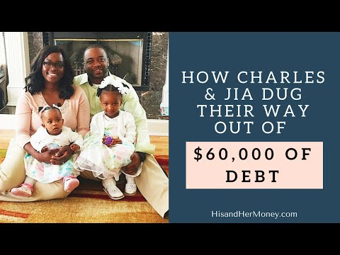 How Charles and Jia Dug Their Way out of $60,000 of Debt in 3 Years