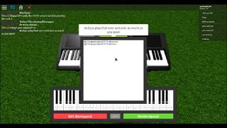 Bitch Lasagna {Roblox Piano}