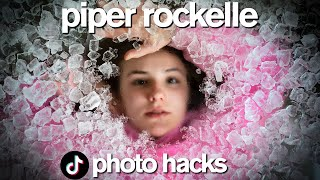 VIRAL TikTok Photo Hacks ft Piper Rockelle *Boys vs Girls*
