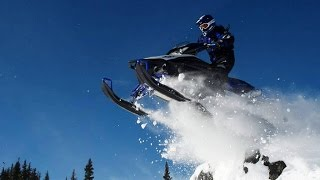 Катание на снегоходе Yamaha в Карпатах. Snowmobiling Yamaha  in the Ukraine Carpathians.(, 2015-12-11T18:17:27.000Z)
