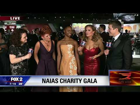 Inteather™ gets media attention at 2019 NAIAS Charity Preview
