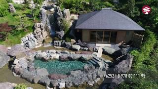 Премиальная купель Ротренбуро. Японский Сад в Mriya Resort & SPA.