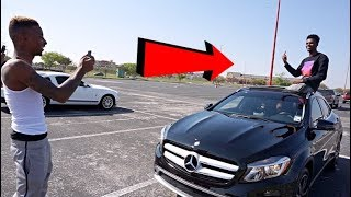 SURPRISE BOYFRIEND WITH NEW CAR PRANK FT FUNNYMIKE!!!