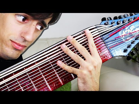 Download Youtube: 15 STRINGS SLAP BASS SOLO