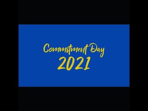 2021 Verbum Dei High School Commitment Day Ceremony
