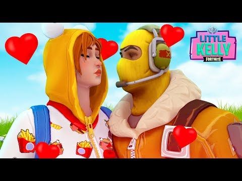 RAPTOR and ONESIE go on a DATE  - Fortnite Short Film | Little Kelly