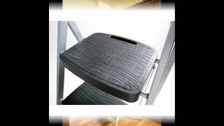 Rubbermaid 3 Step Steel Stool