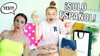 Download SAYING YES to EVERYTHING MIA SAYS in SPANISH! *24 Hour Challenge* Mp3 and Videos