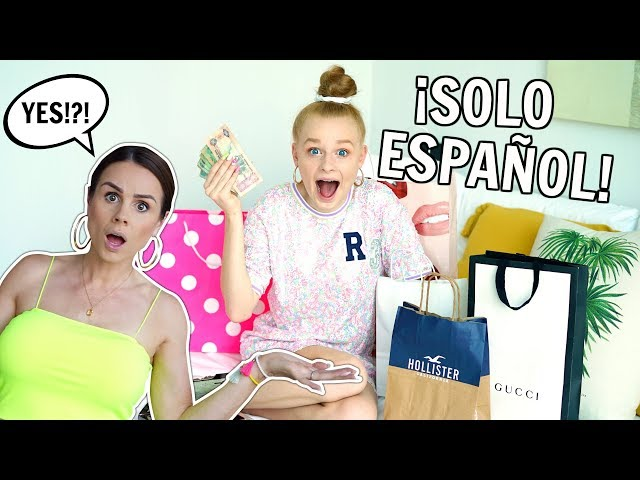 SAYING YES to EVERYTHING MIA SAYS in SPANISH! *24 Hour Challenge*