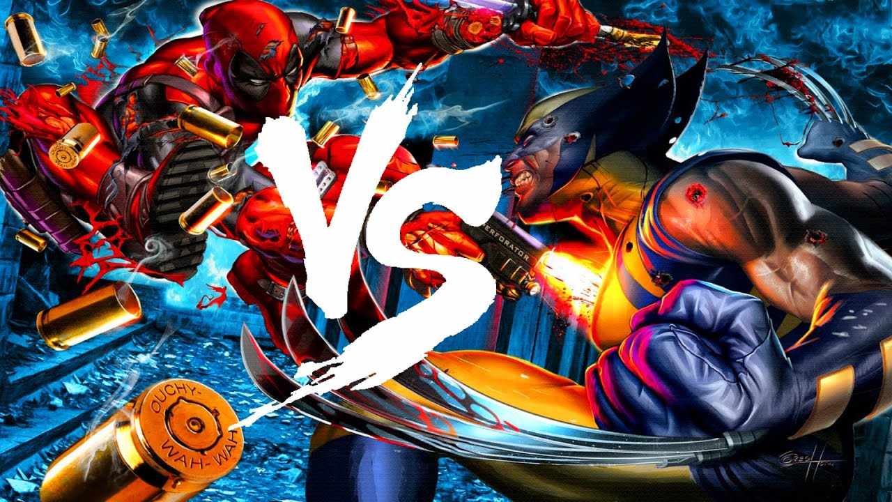 Deadpool Vs Wolverine | Versus | Marko Vs AngelCry - YouTube