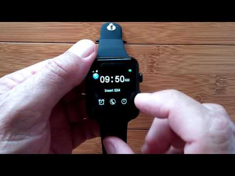Banaus BS19 Dual Mode Apple Clone Smartwatch: Unboxing and 1st Look