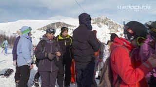 Сегодня в Кировске приостановил свою работу горнолыжный комплекс Большой Вудъявр