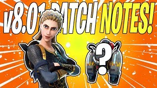 HIGHLAND WARRIOR WILDCAT & VERTICAL GAMEPLAY? Update v8.01 Patch Notes | Fortnite Save The World