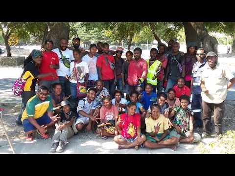 NCDC UYEP Papua New Guinea Youth Project Video,