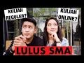 LULUS SMA MENDING KULIAH ONLINE ATAU KULIAH REGULER? (Plus Minus, Biaya, Tips dll) ft. Gilang Ragil
