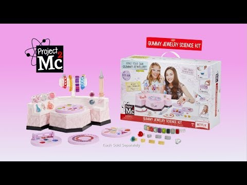 project mc gummy jewelry science kit 30 commercial