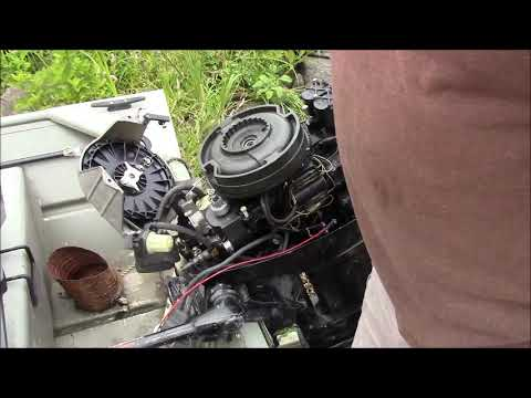 DIY How to add a battery charging coil to a Mercury outboard, install a charging coil to an outboard