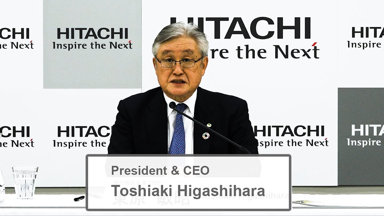 Download Web Conference on Progress of the 2021 Mid-term Management Plan - Hitachi (30 Sec)