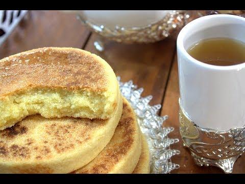 mini-galette-de-semoule-moyenne-recette-très-rapide-et-très-facile-حريشات-صغار-سهلين