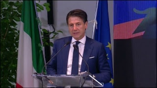 Giuseppe Conte all'82ma Fiera del Levante