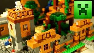 LEGO Minecraft 2017 - Самоделка Лего Майнкрафт - Мультики и Обзор для Детей