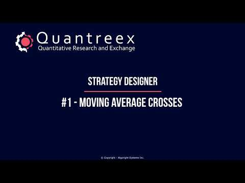 DESIGN #1 - Moving Average Crosses