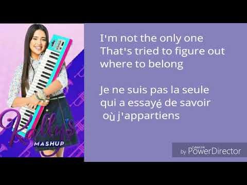 Kally's mashup ❤ worlds collide traduction en français