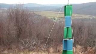 Six Barrel Savonius Vawt