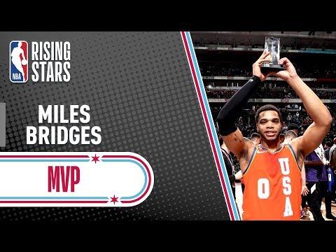Miles Bridges MVP Highlights from 2020 Rising Stars