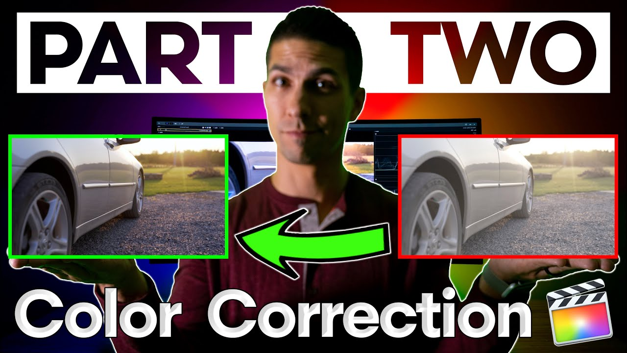FCPX Color Correction made EASY Part 2: Correcting White Balance