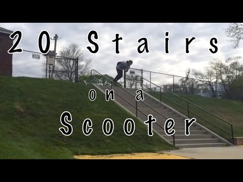 Scooter 20 stair handrail (bigger than el toro)