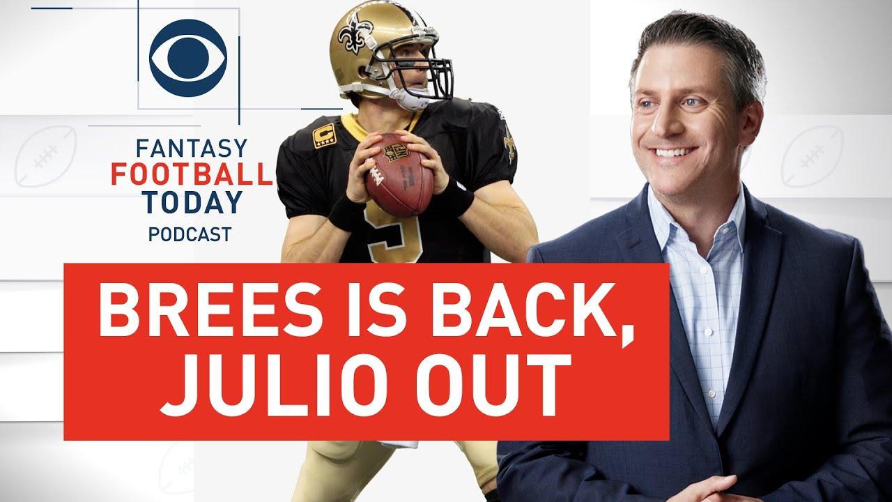 Week 15 INJURY UPDATES, Drew Brees STARTING, Julio Jones REPLACEMENTS   2020 Fantasy Football Advice