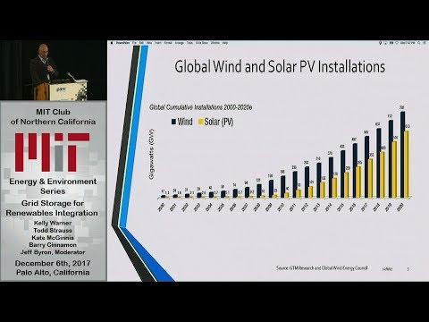 Grid Storage for Renewables Integration