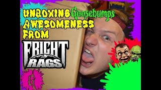 UNBOXING! Goosebumps Awesomeness From Fright-Rags!