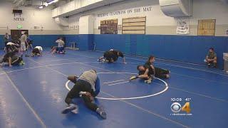 High School Wrestlers Raise Cancer Awareness In Unique Way