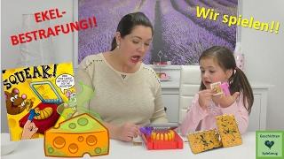 Wir spielen Mäusefalle 🧀 mit ekel Käse Bestrafung!! 🧀 Geschichten und Spielzeug Familienkanal