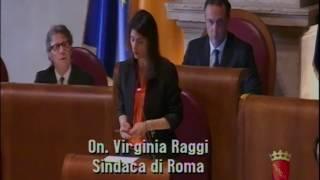 Virginia Raggi- Replica finale