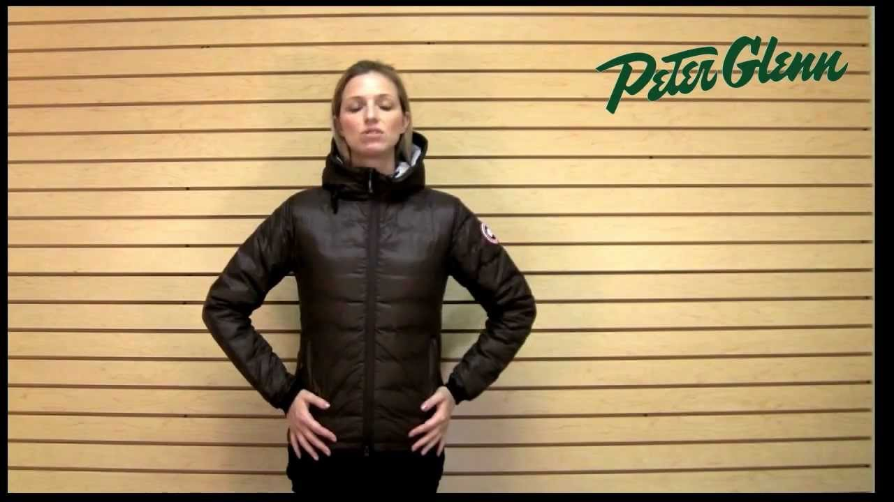 canada goose camp hoody down jacket review from peter glenn youtube rh youtube com