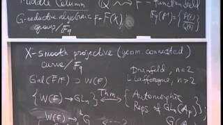 Edward Frenkel, Gauge Theory and Langlands Duality I