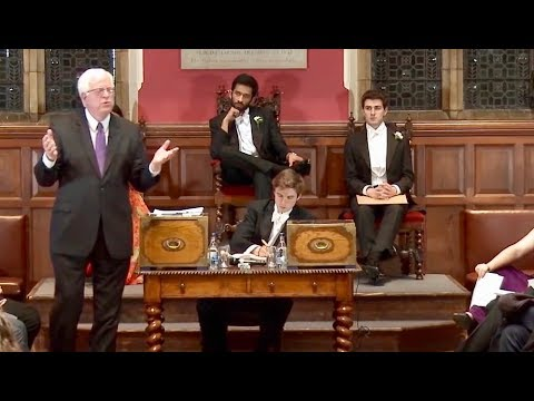Dennis Prager Brilliantly Schools Liberal Academics at Oxford on Foreign Policy